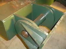 Detalle de fabricación de pinzas