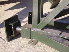 Detalles de soldaduras cortes y mecanizados