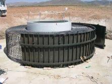 Encofrado aerogenerador eolicas