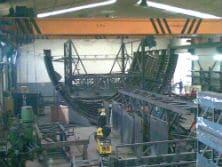 Fabricación de encofrado para tunel Sevilla