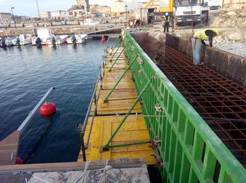 Encofrado marítimo
